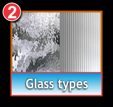 choose your cabinet glass type
